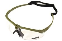 Photo A69641-Lunettes Battle Pro Thermal Vert/Clear - Nuprol