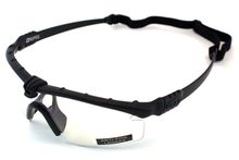 Photo Lunettes Battle Pro Thermal Noir/Clear avec insert - Nuprol