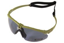 Photo Lunettes Battle Pro Thermal Vert/Smoke avec insert - Nuprol
