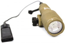 Tactical gun nx600s tan lamp - Nuprol