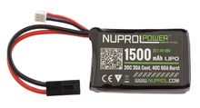 Photo Batterie micro LiPo power 7,4 v 1500 mah 20 c peq