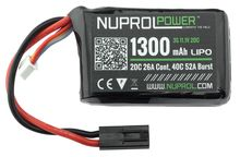 Photo BATTERIE MICRO LIPO POWER 11,1 V 1300 MAH  20 C PEQ