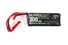 Photo Batterie LiPo 7. 4 v / 300 mah 35 c spécial HPA np