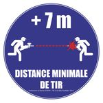 Photo Panneau NF distance de tir