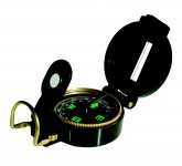 Military-style dry compass