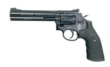 Revolver CO2 Smith & Wesson Mod 586 noir 6'' BB's cal. 4,5 mmRevolver CO2 Smith & Wesson Mod 586 noir 6'' BB's cal. 4,5 mm