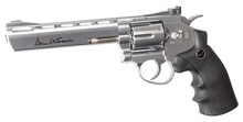 Revolver CO2 Dan Wesson silver 6'' BB's cal. 4,5 mmRevolver CO2 Dan Wesson silver 6'' BB's cal. 4,5 mm