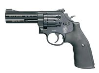 Revolver CO2 Smith & Wesson Mod 586 noir 4'' BB's cal. 4,5 mmRevolver CO2 Smith & Wesson Mod 586 noir 4'' BB's cal. 4,5 mm
