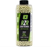 Beads RZR 0.25g green 3300bb bottles TRACER - Nuprol