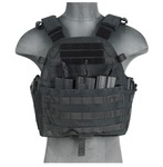 Photo Veste Plate Carrier 1000D noire