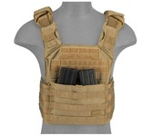 Photo Gilet Plate Carrier SPAC Tan 1000D