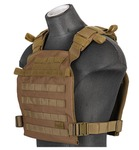 Gilet léger Plate carrier Coyotte Brown 1000D
