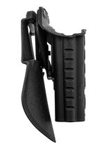 Photo GE15105-1-Duplica HOLSTER RETENTION PRO ROTO + PADDLE POUR S19 GAUCHER - BO MANUFACTURE