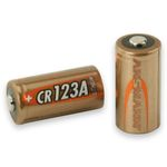 Lithium battery CR123 3 volts - Ansmann