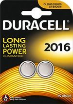 CR2016 3 Volt Batteries - Duracell