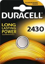Pile CR2430 3 volts - Duracell