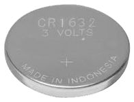 Lithium battery CR1632 3 volts