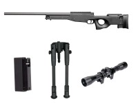 Christmas pack AW308 1,9J + 4x32 scope + bipod + mag