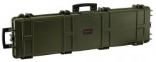 Mallette XL Waterproof OD Green 137 x 39 x 15 cm mousse vague - Nuprol