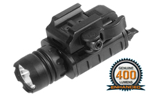 TACTICAL LAMP PICATININY 400 LUMENS FOR PISTOL