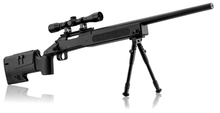 Photo Pack sniper type M40 spring 1. 9j + bi-Pods + Scope 4x32