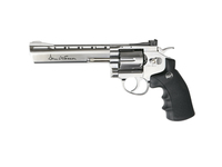 Photo Réplique revolver Dan wesson 6 pouces Silver Low Power