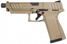 Photo Réplique GBB pistolet GTP9 gaz 0,9J Tan