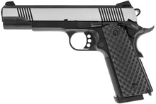 Photo Réplique GBB 1911 MEU Raven full metal gaz Silver 1,0J