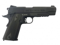 Réplique GBB 1911 Rail MILBO Co2Réplique GBB 1911 Rail MILBO Co2