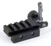 Photo Flip-Up Rear Sight with Small Rail