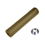 Silencer Crusader TR45S Suppressor tan 14 and 16mm - VFC
