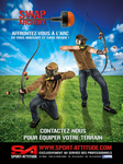 Photo Pub Sport Attitude Airsoft-2-Pack Swap archerie enfants