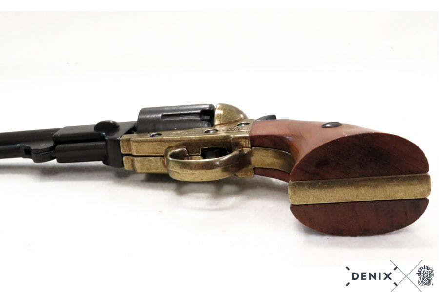 CD1083L-07-Réplique décorative Denix de Revolver 1851 marine américaine - CD1083L