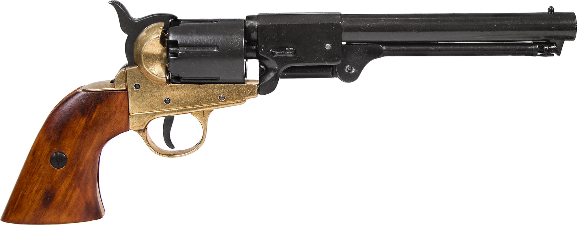 CD1083L-Réplique décorative Denix de Revolver 1851 marine américaine - CD1083L