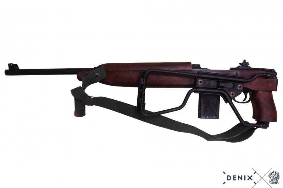 Denix decorative replica of the M1 Carbine folding rifle