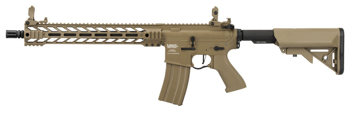 LK9069 Réplique AEG LT-34 Proline GEN2 Enforcer Battle Hawk 14' tan - CLK9000