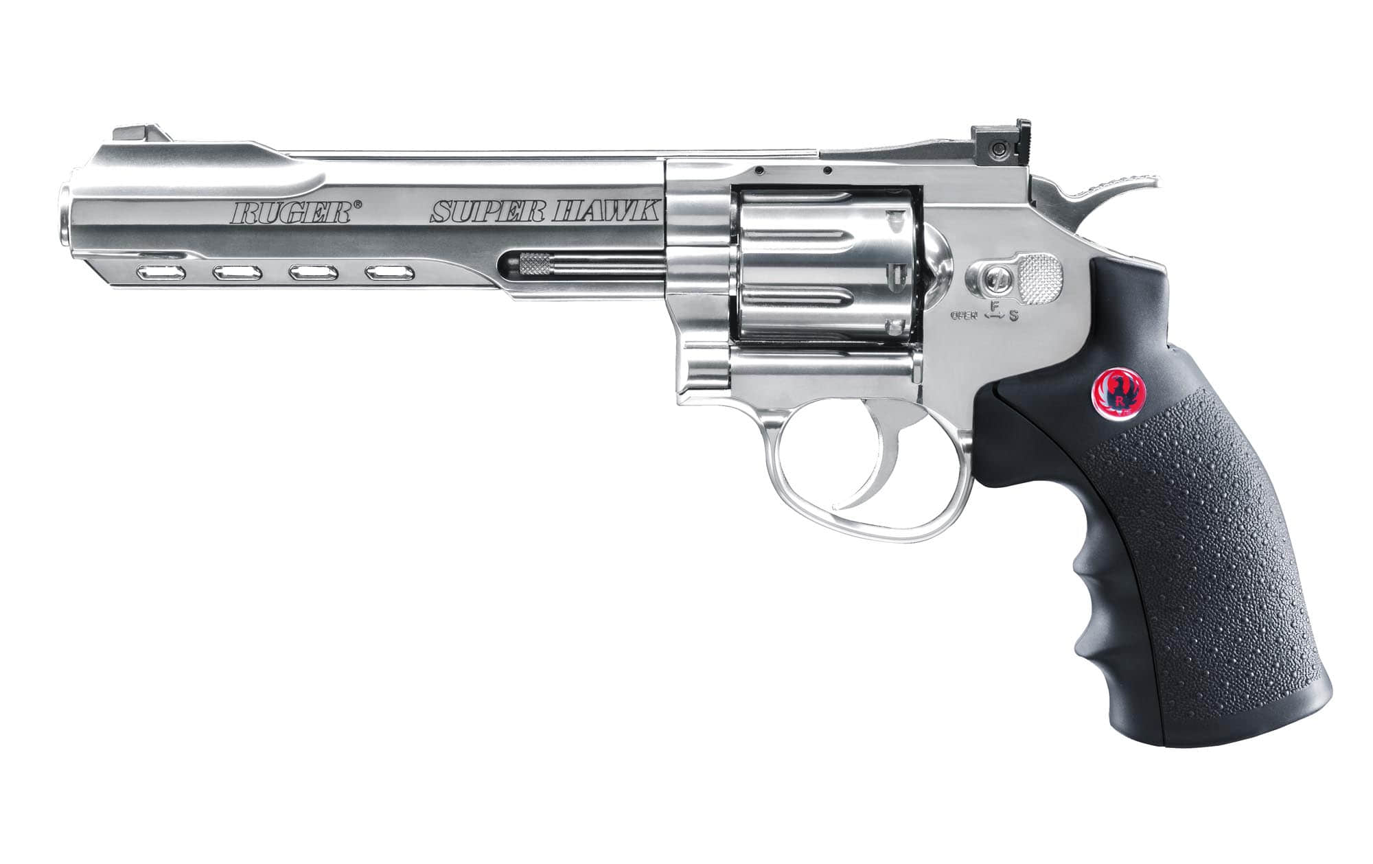 PG2940-Réplique revolver Super Hawk 8 Pouces Co2 - CPG2940